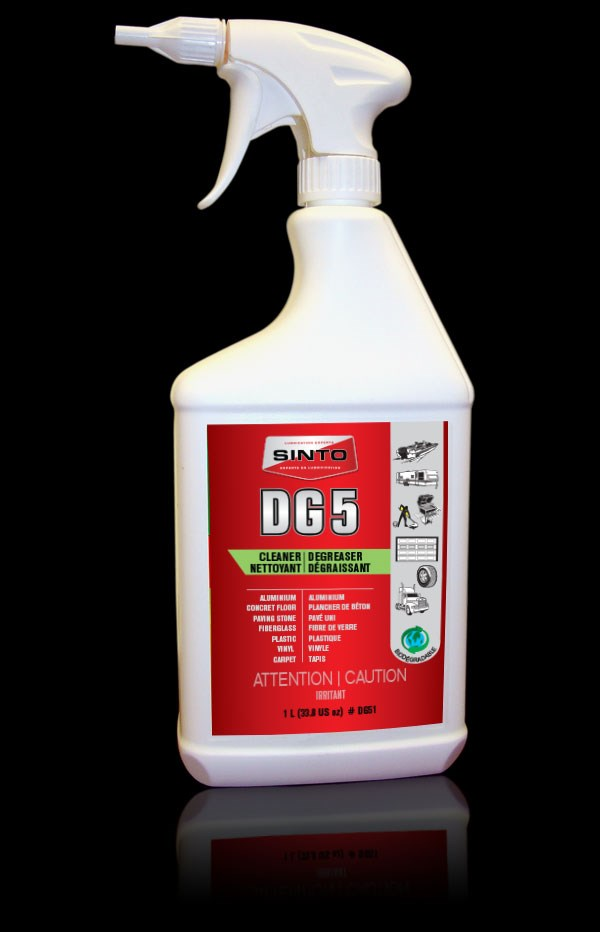 Powerful Cleaner & Biodegradable Degreaser DG5 | SINTO Lubrication